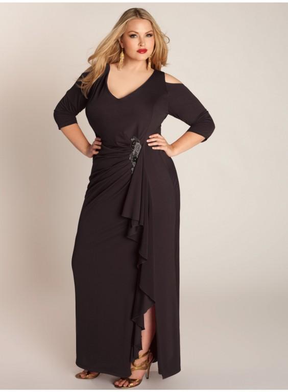 2 дек 2014 Мода и стиль - Модные коктейльные и вечерние платья для полных женщин 2015 (фото). вечерние платья